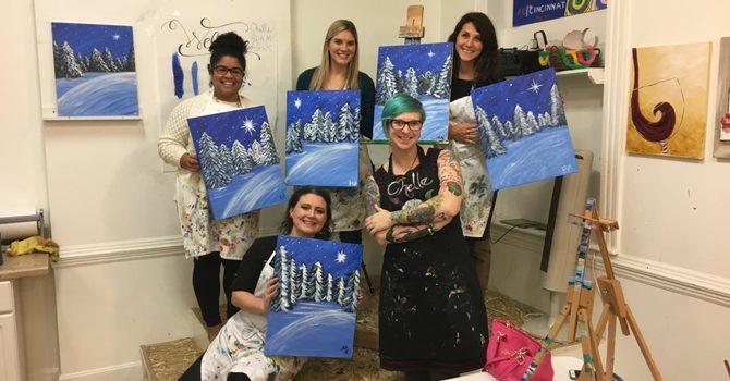Painting at Cheers to Art! image