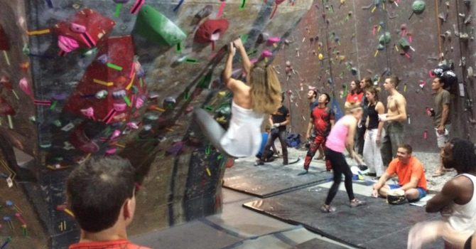 Staying Active: Climbing at Rockquest image