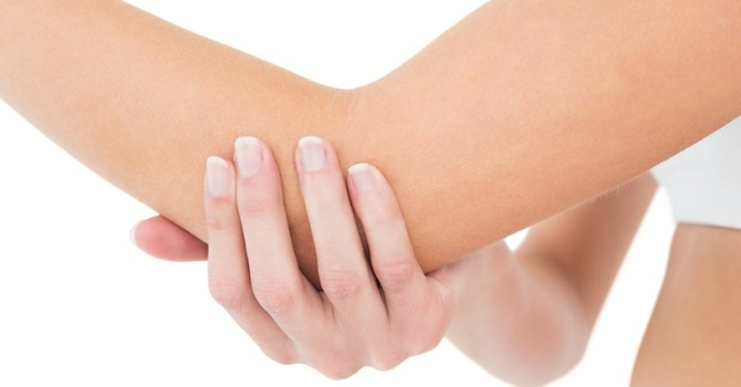 How do you get rid of tennis elbow? image